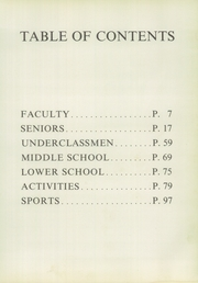 Tower Hill School - Evergreen Yearbook (Wilmington, DE) online yearbook collection, 1960 Edition, Page 9 of 160
