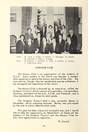 Trafalgar Castle School - Yearbook (Whitby, Ontario Canada) online yearbook collection, 1954 Edition, Page 10