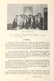 Trafalgar Castle School - Yearbook (Whitby, Ontario Canada) online yearbook collection, 1954 Edition, Page 6