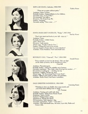 Page 17, 1969 Edition, Trafalgar School - Echoes Yearbook (Montreal, Quebec Canada) online yearbook collection