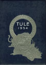Tranquillity High School - Tule Yearbook (Tranquillity, CA) online yearbook collection, 1954 Edition, Cover