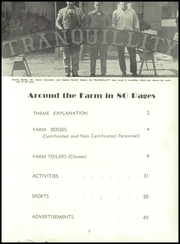 Page 9, 1954 Edition, Tranquillity High School - Tule Yearbook (Tranquillity, CA) online yearbook collection