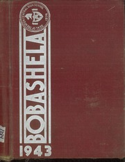 Trenton Central High School - Bobashela Yearbook (Trenton, NJ) online yearbook collection, 1943 Edition, Cover