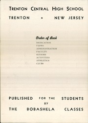 Page 8, 1943 Edition, Trenton Central High School - Bobashela Yearbook (Trenton, NJ) online yearbook collection