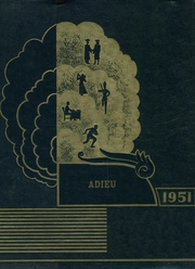 Trevorton High School - Adieu Yearbook (Trevorton, PA) online yearbook collection, 1951 Edition, Cover