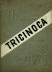 Tri City High School - Tricinoca Yearbook (Spray, NC) online yearbook collection, 1953 Edition, Cover
