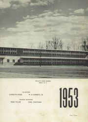 Page 7, 1953 Edition, Tri City High School - Tricinoca Yearbook (Spray, NC) online yearbook collection