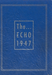 Tri County High School - Penguin Yearbook (Plainfield, WI) online yearbook collection, 1947 Edition, Cover