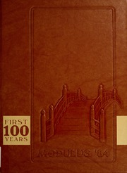 Trine University - Modulus Yearbook (Angola, IN) online yearbook collection, 1984 Edition, Cover
