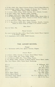 Trinity College School - Record Yearbook (Port Hope, Ontario Canada) online yearbook collection, 1951 Edition, Page 12
