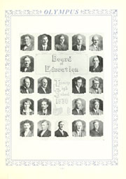 Page 15, 1930 Edition, Trinity High School - Olympus Yearbook (Washington, PA) online yearbook collection