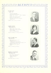 Page 17, 1930 Edition, Trinity High School - Olympus Yearbook (Washington, PA) online yearbook collection