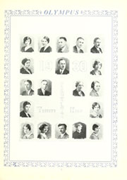 Page 9, 1930 Edition, Trinity High School - Olympus Yearbook (Washington, PA) online yearbook collection