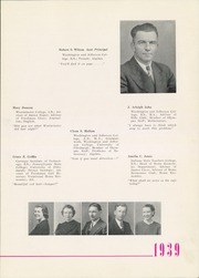 Page 13, 1939 Edition, Trinity High School - Olympus Yearbook (Washington, PA) online yearbook collection