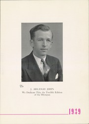 Page 7, 1939 Edition, Trinity High School - Olympus Yearbook (Washington, PA) online yearbook collection