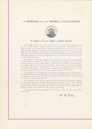Page 8, 1939 Edition, Trinity High School - Olympus Yearbook (Washington, PA) online yearbook collection
