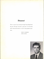 Trinity High School - Tiger Yearbook (Trinity, TX) online yearbook collection, 1956 Edition, Page 6