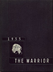 Troutville High School - Warrior Yearbook (Troutville, VA) online yearbook collection, 1955 Edition, Cover