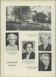 Page 10, 1955 Edition, Troutville High School - Warrior Yearbook (Troutville, VA) online yearbook collection