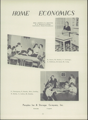 Page 17, 1955 Edition, Troutville High School - Warrior Yearbook (Troutville, VA) online yearbook collection