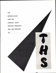 Troy High School - Trojan Yearbook (Troy, OH) online yearbook collection, 1963 Edition, Page 5