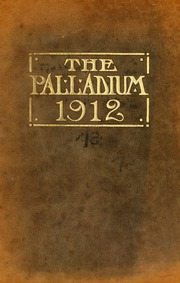 Troy University - Palladium Yearbook (Troy, AL) online yearbook collection, 1912 Edition, Cover