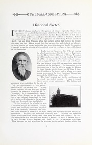 Page 15, 1912 Edition, Troy University - Palladium Yearbook (Troy, AL) online yearbook collection