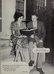 Page 9, 1951 Edition, Troy University - Palladium Yearbook (Troy, AL) online yearbook collection