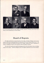 Page 15, 1949 Edition, Truman State University - Echo Yearbook (Kirksville, MO) online yearbook collection