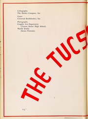 Page 6, 1951 Edition, Tucson High School - Tucsonian Yearbook (Tucson, AZ) online yearbook collection