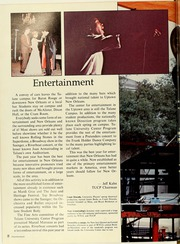 Page 12, 1982 Edition, Tulane University - Jambalaya Yearbook (New Orleans, LA) online yearbook collection