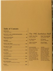 Tulane University - Jambalaya Yearbook (New Orleans, LA) online yearbook collection, 1982 Edition, Page 4