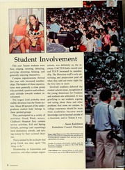 Page 8, 1982 Edition, Tulane University - Jambalaya Yearbook (New Orleans, LA) online yearbook collection