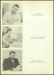 Tulare Union High School - Argus Yearbook (Tulare, CA) online yearbook collection, 1955 Edition, Page 16