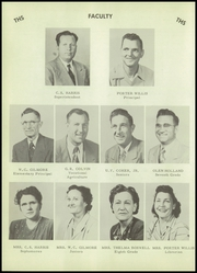 Page 12, 1952 Edition, Turkey High School - Turkey Yearbook (Turkey, TX) online yearbook collection