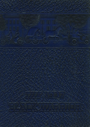 Tuscaloosa High School - Black Warrior Yearbook (Tuscaloosa, AL) online yearbook collection, 1937 Edition, Cover