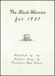 Page 7, 1937 Edition, Tuscaloosa High School - Black Warrior Yearbook (Tuscaloosa, AL) online yearbook collection