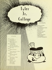 Page 7, 1950 Edition, Tyler Junior College - Apache Yearbook (Tyler, TX) online yearbook collection