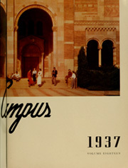 Page 7, 1937 Edition, University of California Los Angeles - Bruin Life / Southern Campus Yearbook (Los Angeles, CA) online yearbook collection