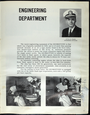 Page 16, 1967 Edition, USS Georgetown (AGTR 2) - Naval Cruise Book online yearbook collection