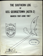 Page 6, 1967 Edition, USS Georgetown (AGTR 2) - Naval Cruise Book online yearbook collection