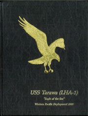 USS Tarawa (LHA 1) - Naval Cruise Book online yearbook collection, 1989 Edition, Cover