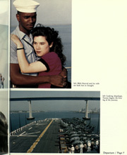 Page 11, 1989 Edition, USS Tarawa (LHA 1) - Naval Cruise Book online yearbook collection