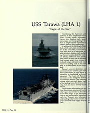 Page 16, 1989 Edition, USS Tarawa (LHA 1) - Naval Cruise Book online yearbook collection