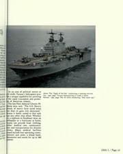 Page 17, 1989 Edition, USS Tarawa (LHA 1) - Naval Cruise Book online yearbook collection