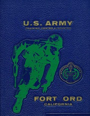 US Army Training Center Fort Ord - Yearbook (Fort Ord, CA) online yearbook collection, 1971 Edition, Cover
