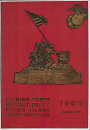 US Marine Corps Recruit Depot - Yearbook (Parris Island, SC) online yearbook collection, 1969 Edition, Cover