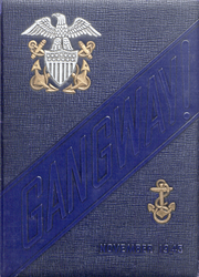 US Naval Reserve Midshipmens School - Side Boy Yearbook (New York, NY) online yearbook collection, 1945 Edition, Cover