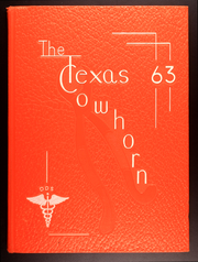 UT Health School of Dentistry - Cowhorn Yearbook (Houston, TX) online yearbook collection, 1963 Edition, Cover