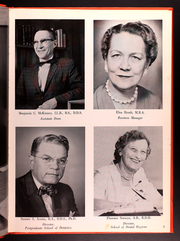 Page 11, 1963 Edition, UT Health School of Dentistry - Cowhorn Yearbook (Houston, TX) online yearbook collection